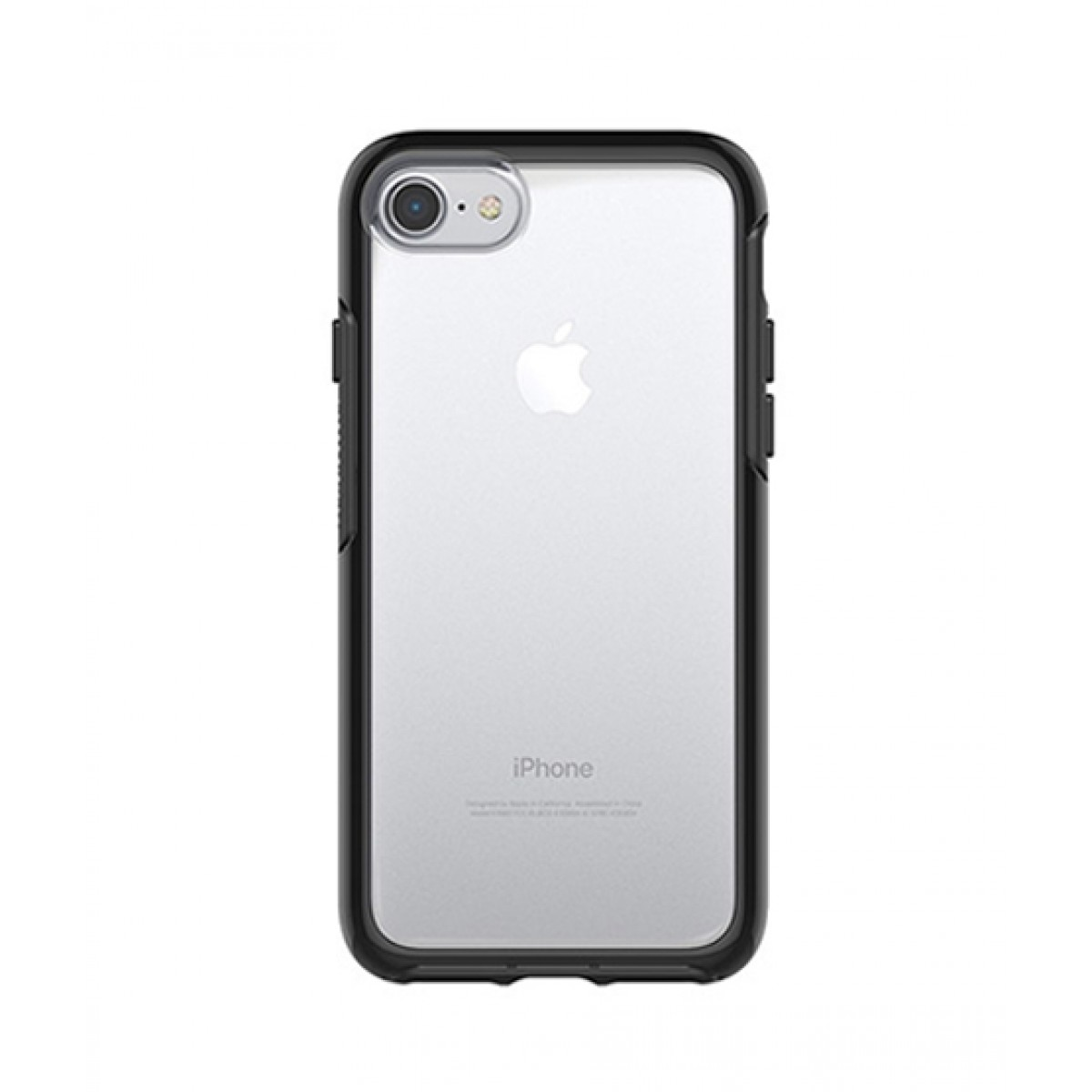 low priced 87fe3 6db13 OtterBox Symmetry Series Clear Black Crystal Case For iPhone 8