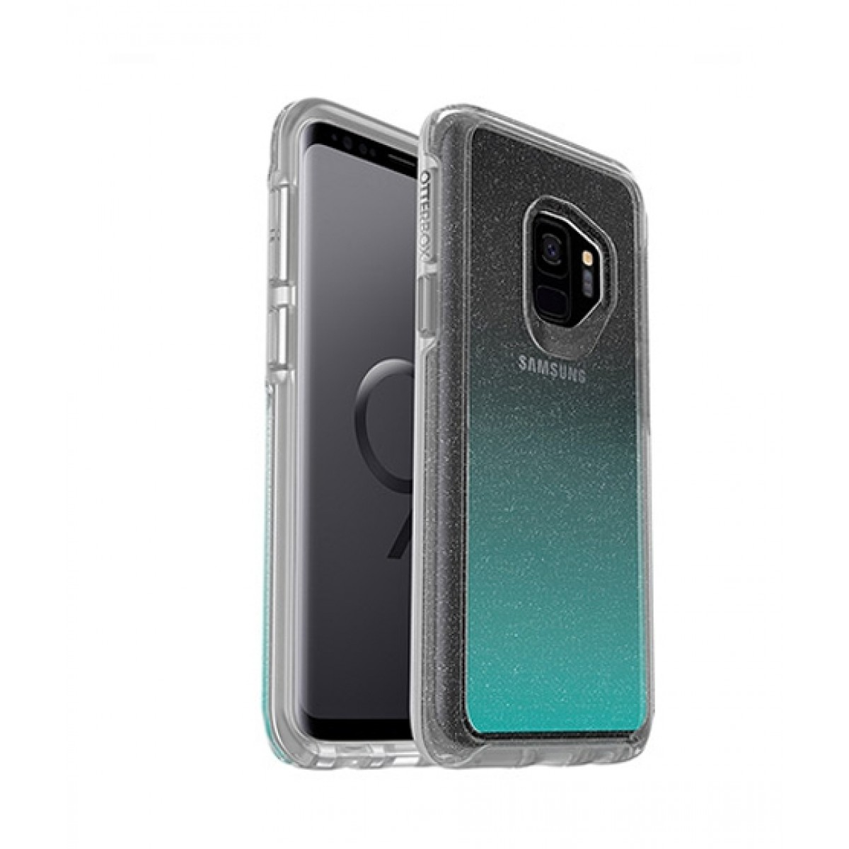 new style 4d36d 98e58 OtterBox Symmetry Series Clear Graphics Aloha Ombre Case For Galaxy S9