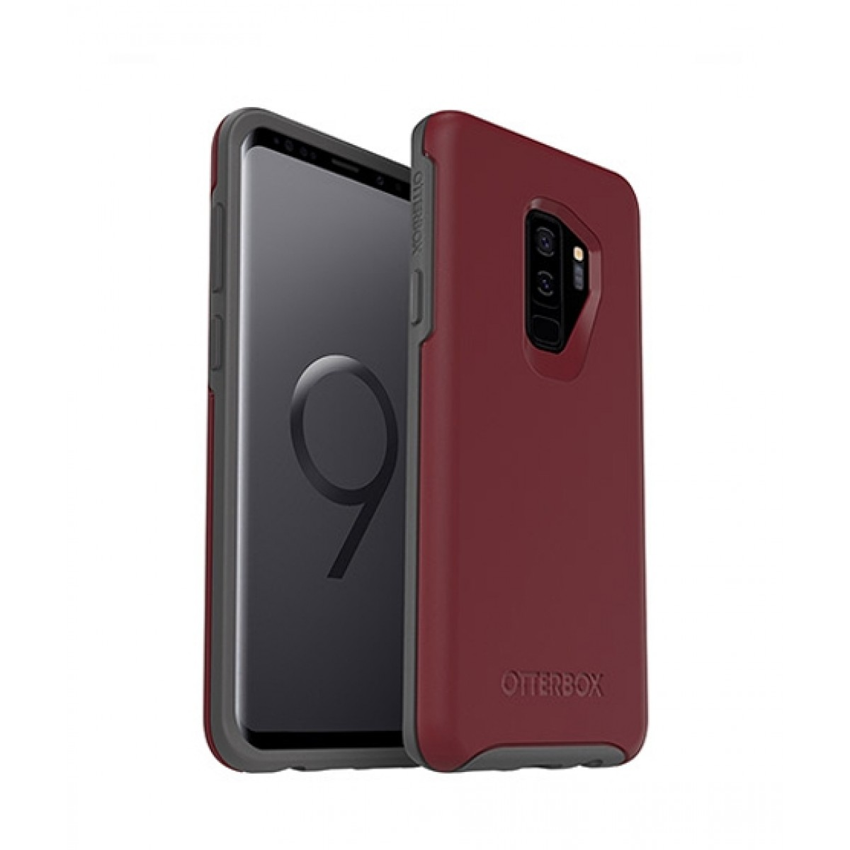 pretty nice 65015 cea22 OtterBox Symmetry Series Fine Port Case For Galaxy S9+