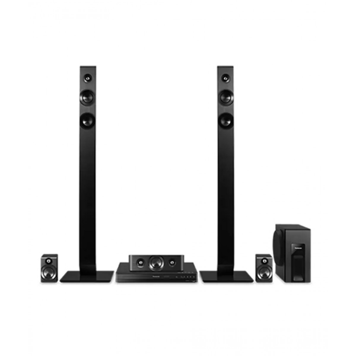 Panasonic 5.1 Channel DVD Home Theater System (HX166)