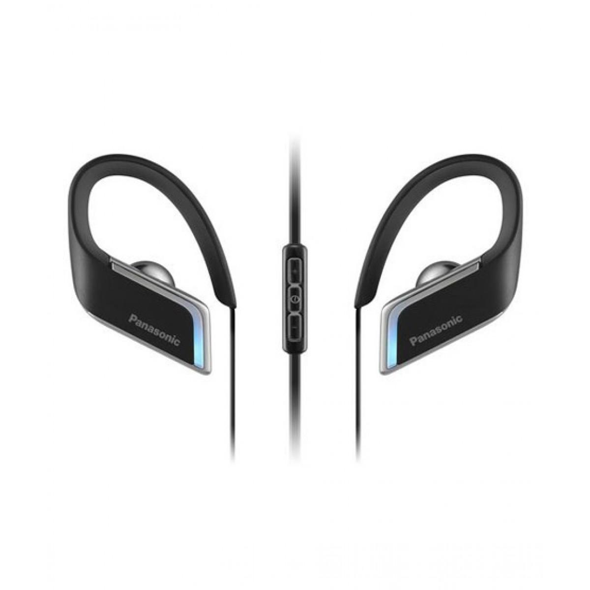 Panasonic Wings Wireless Bluetooth Sport Earbuds Black (RP-BTS50-K)