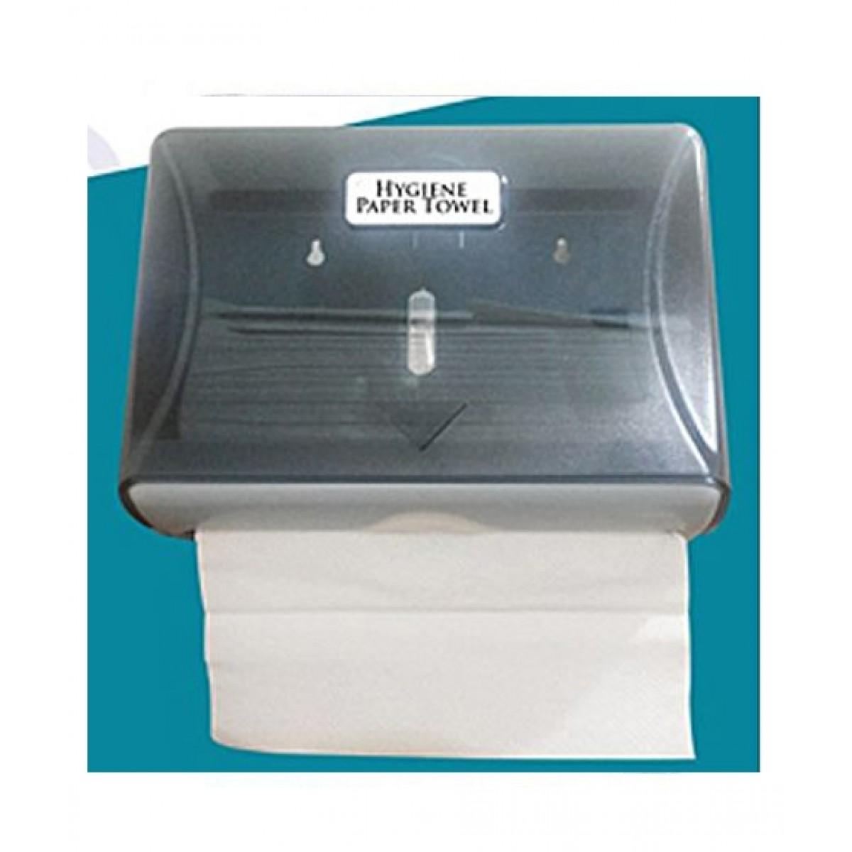 Papa Street Tissue Paper Towel Dispenser Grey
