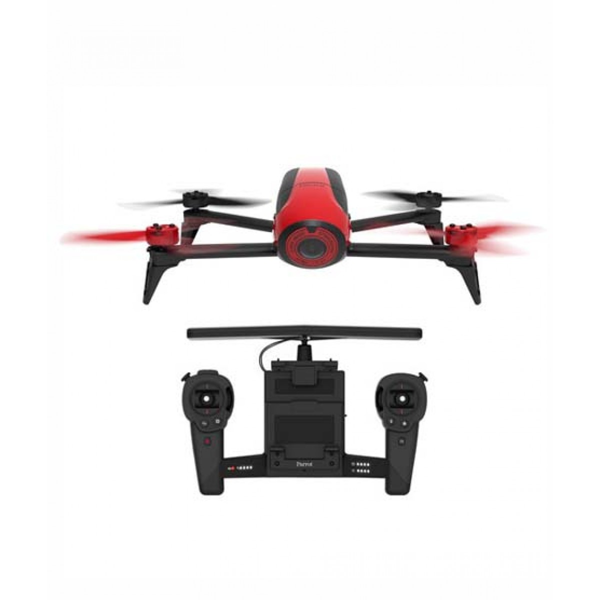 Parrot BeBop Drone 2 Quadcopter Red with Skycontroller