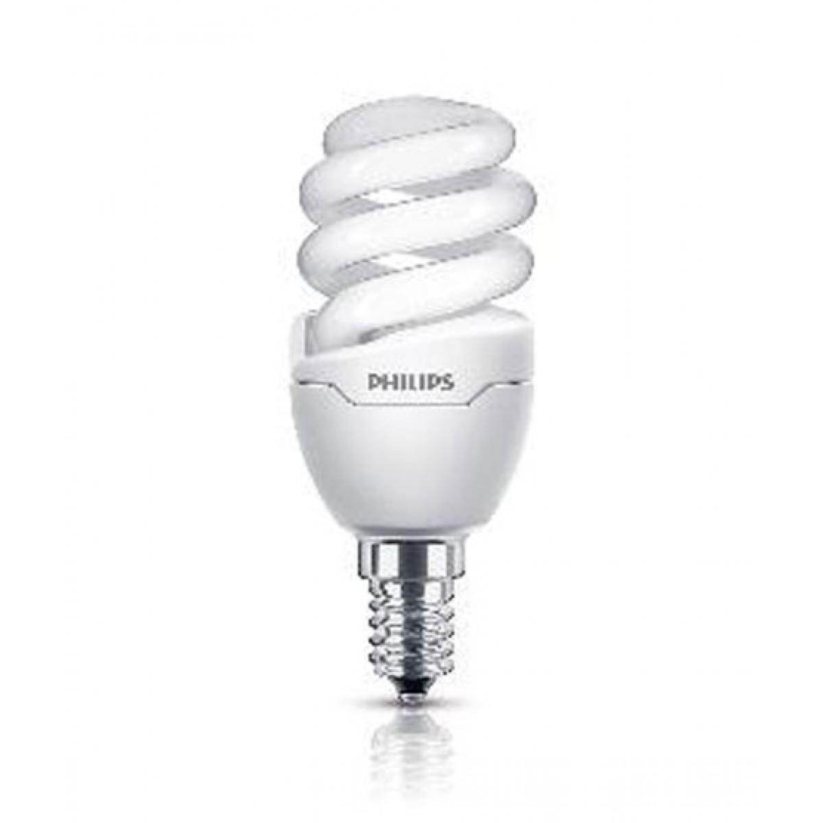 Philips Energy Saver Tornado 12W E14 Cool Day Light 220-240V
