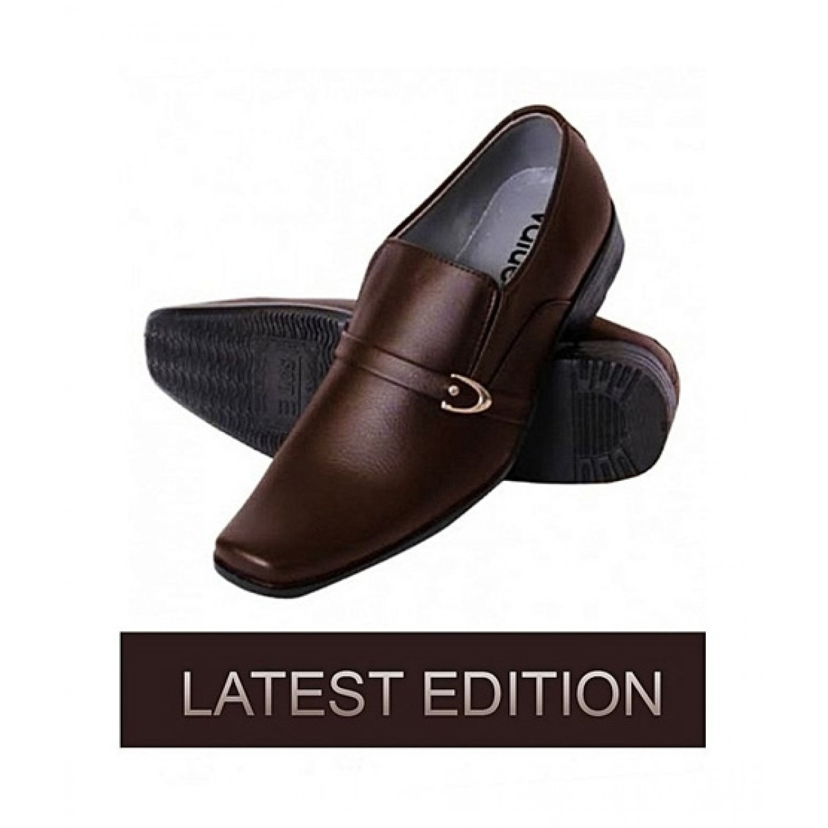 PIP Formal Leather Shoes For Men Brown (ADN1-0172)