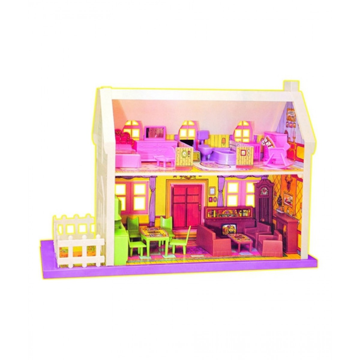 Planet X Big Doll House 34 Pieces Px 9420