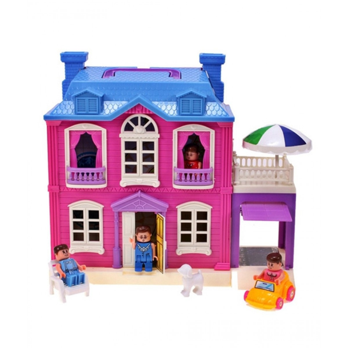 Planet X Dream Palace Giant Doll House Play Set Px 10058