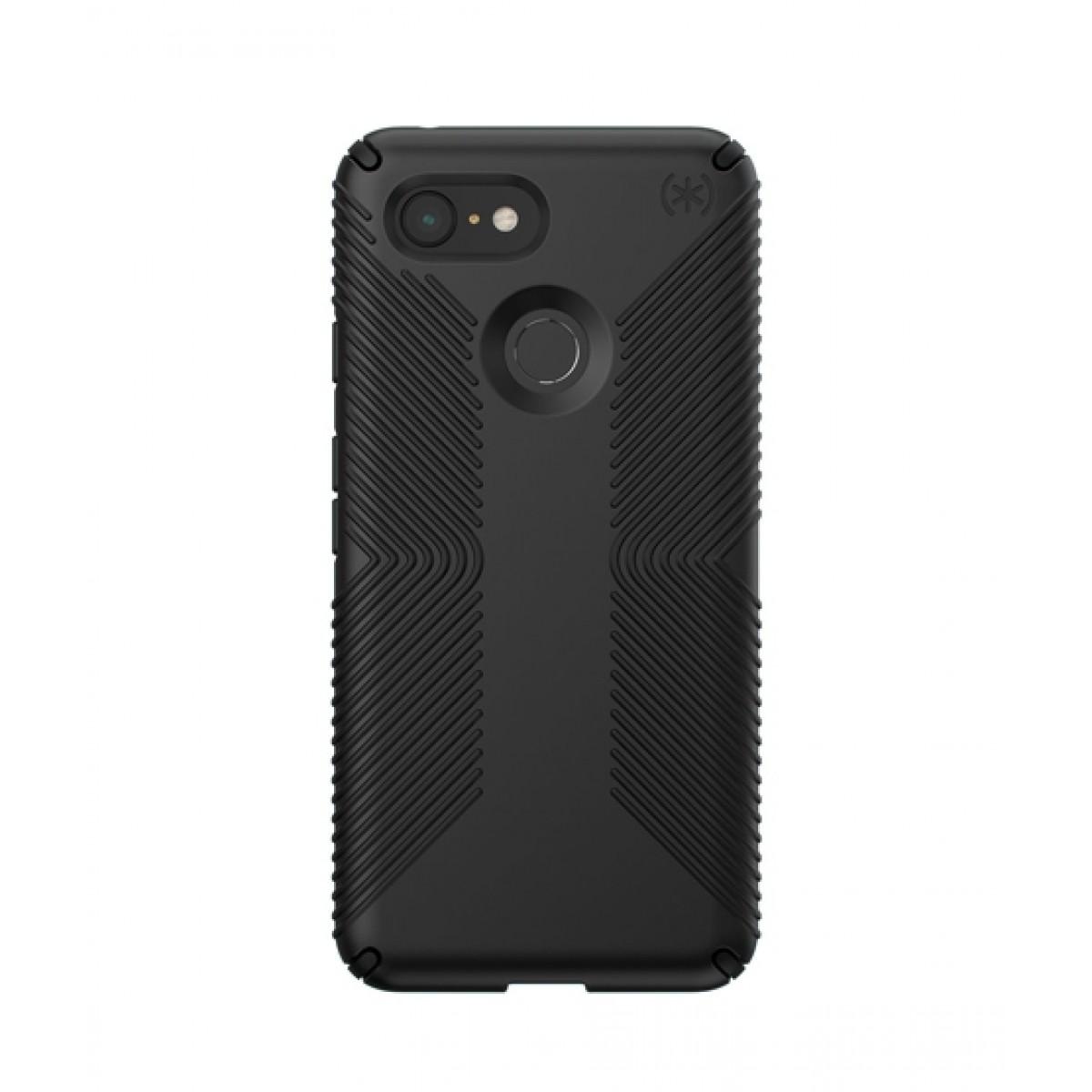 new concept 036b0 52244 Speck Presidio Grip Black Case For Google Pixel 3