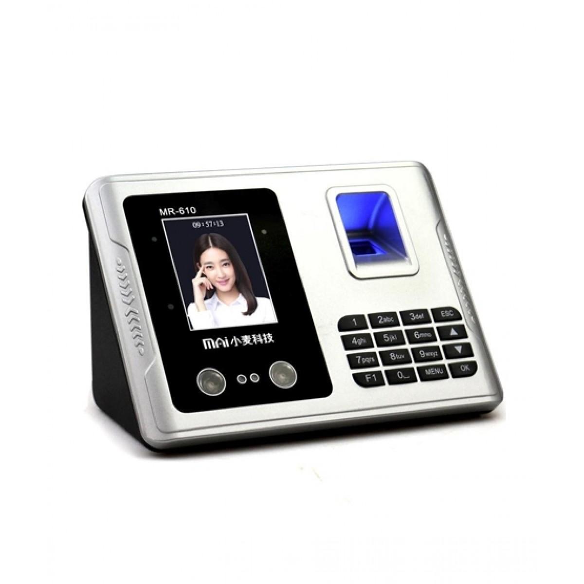 Proxymedia Fingerprint Time Attendance Machine Silver (MR610)