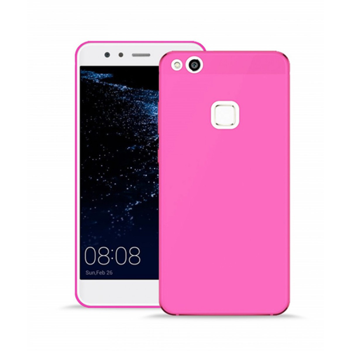 Puro Cover 03 Nude Pink Fluo Case For Huawei P10 Lite