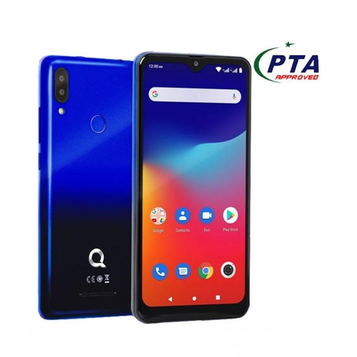 QMobile Rocket Pro 16GB 2GB RAM Dual SIM Blue