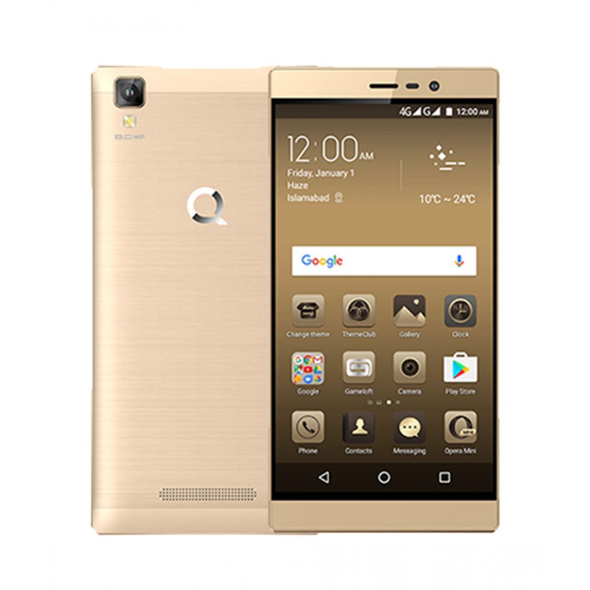QMobile E1 16GB Dual Sim Gold