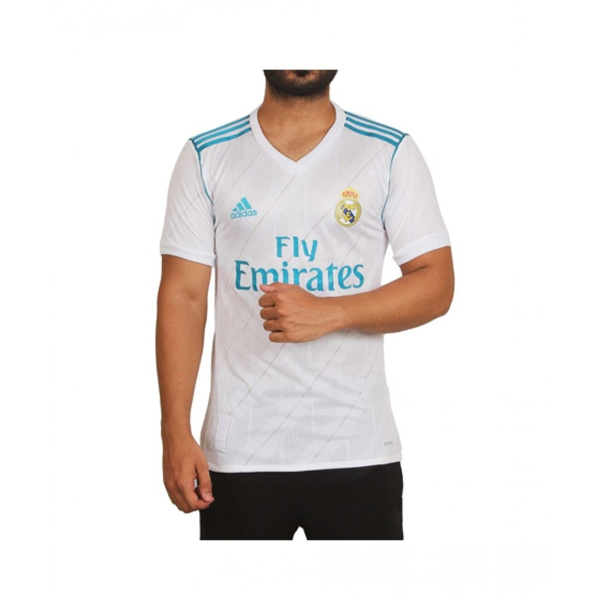 new concept 5ac6b aca38 Rayyan Real Madrid Home Jersey T-Shirt For Men 2017 / 2018