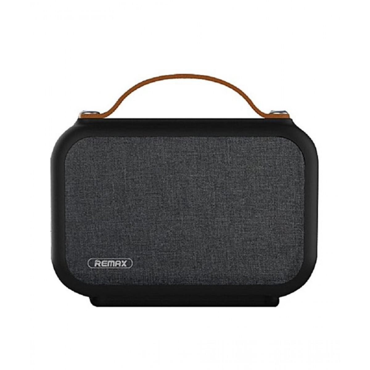 Remax Fabric Portable Wireless Speaker Black (RB-M17)