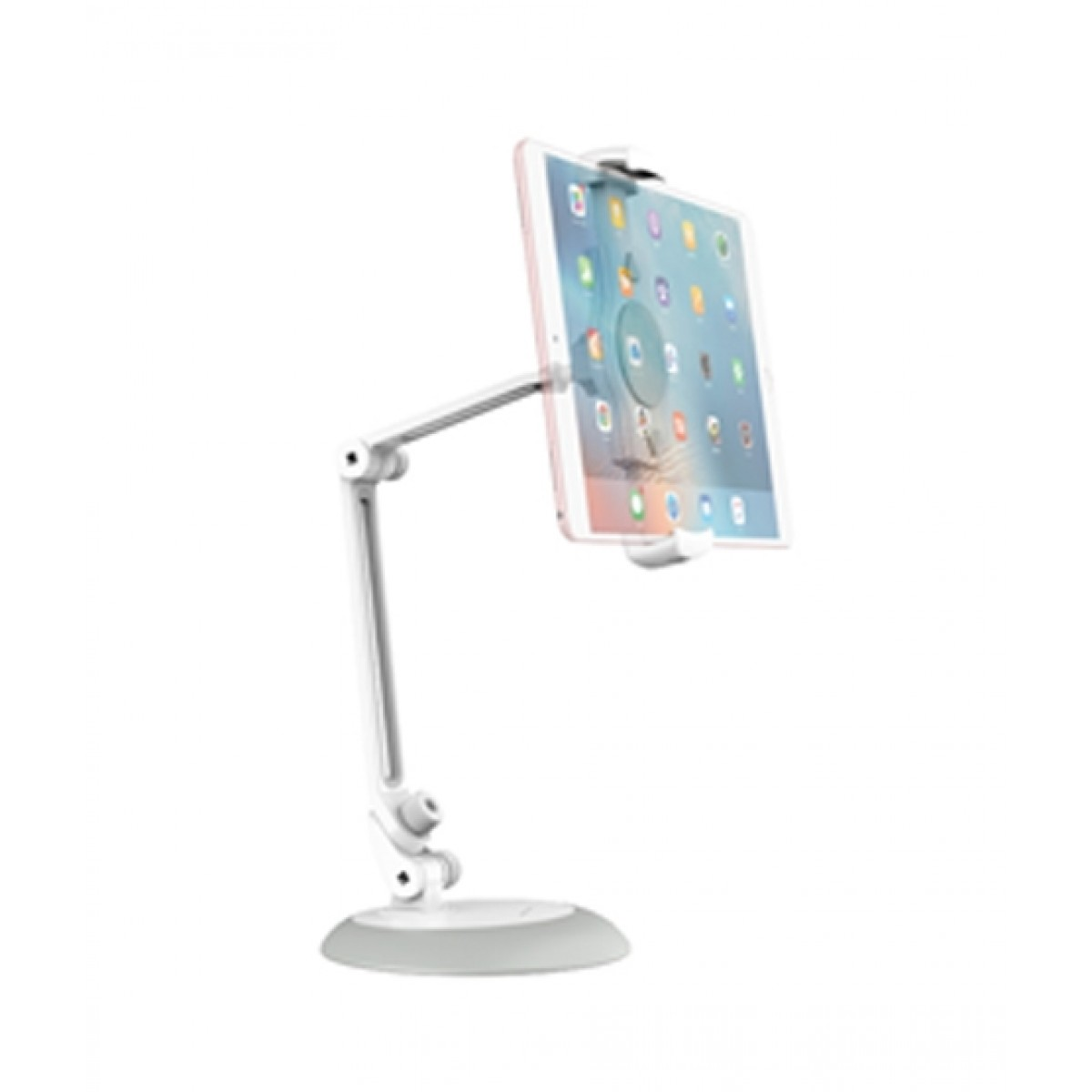 Rock Universal Adjustable Desktop Stand White
