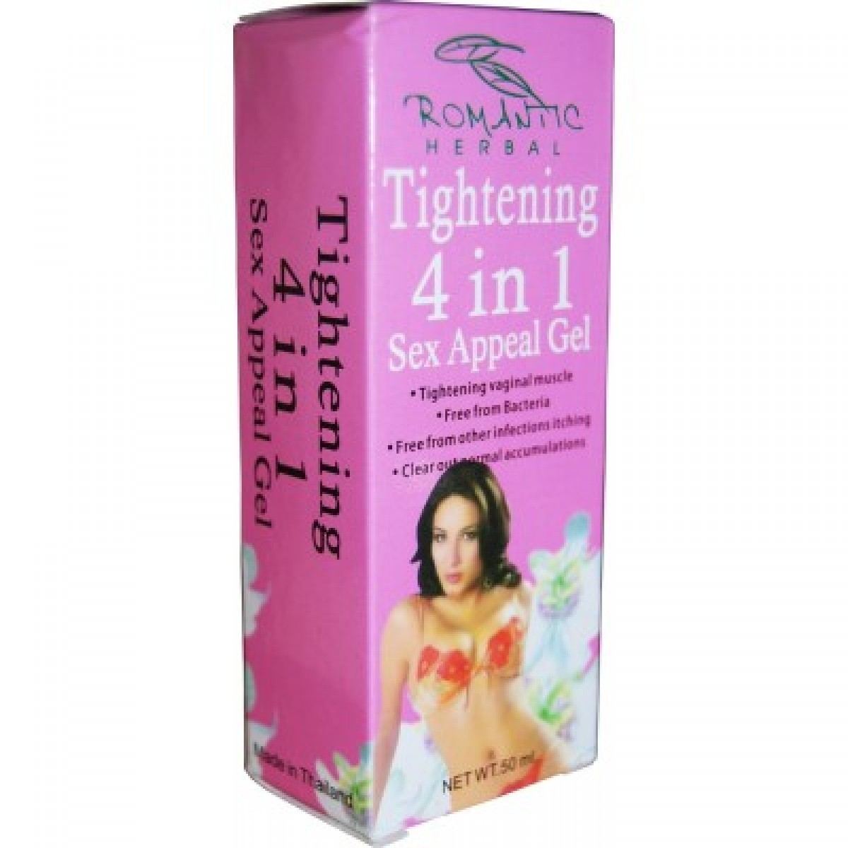 Shop Zone Romantic 4 in 1 Herbal Tightening Gel 50ml