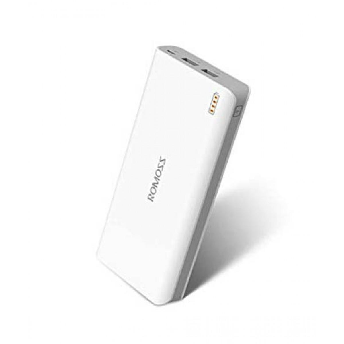 Romoss Sense 6 20000mAh Power Bank White (PH80)