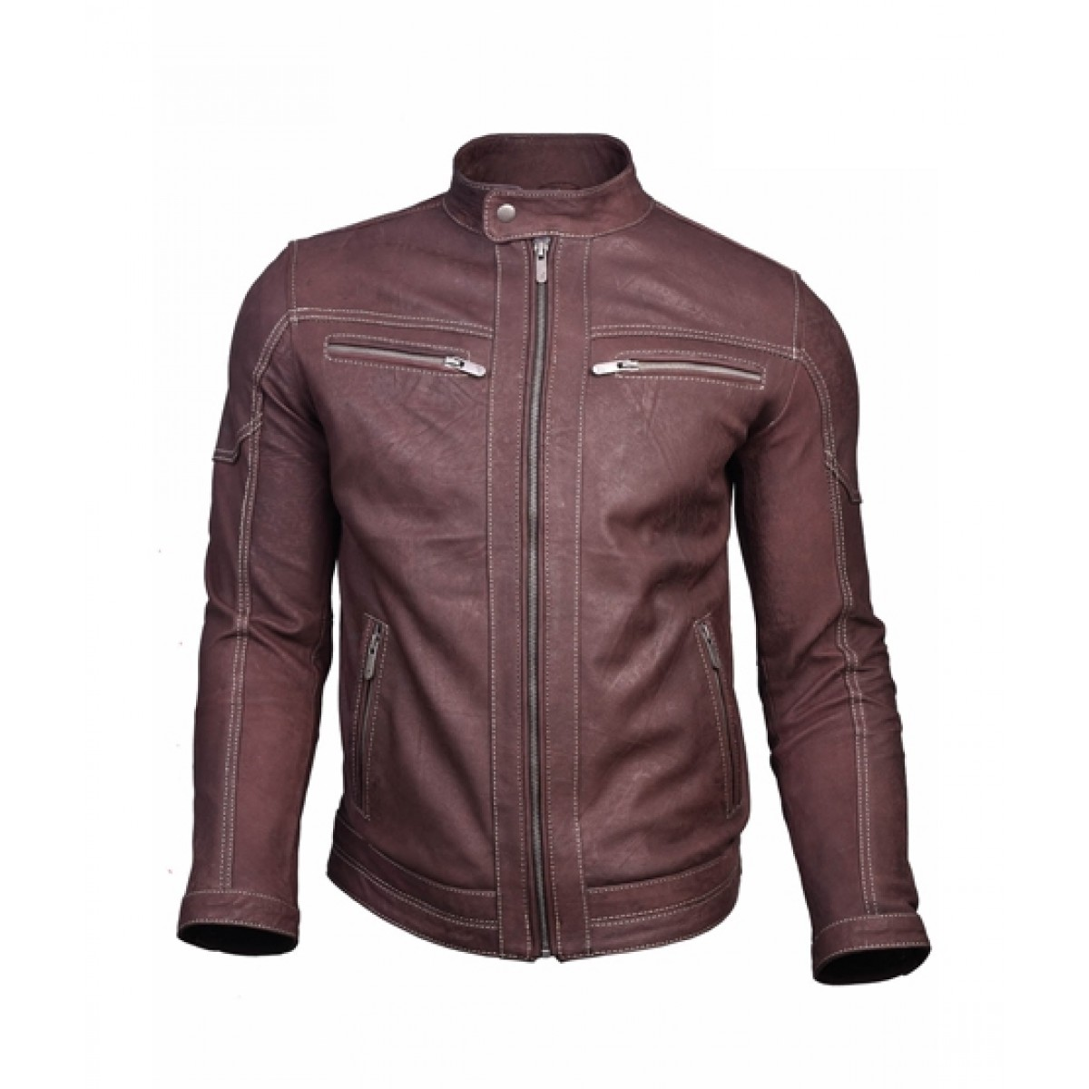 f23fa94a52e3 Rubian Store Leather Jacket For Men Price in Pakistan | Buy Rubian Store Leather  Jacket For Men - Brown (0556) | iShopping.pk