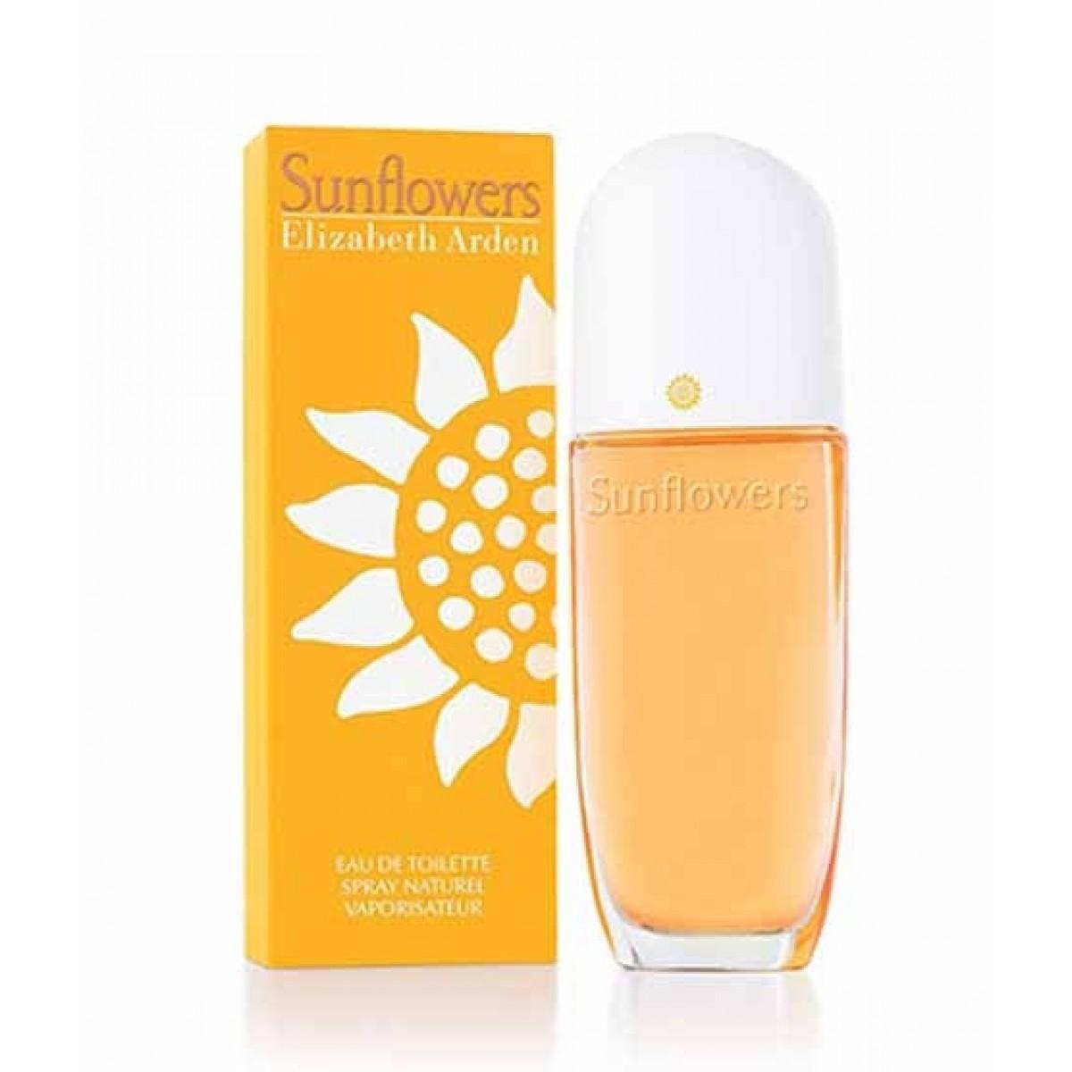 Elizabeth Arden Sunflowers Eau De Toilette For Women 100ml