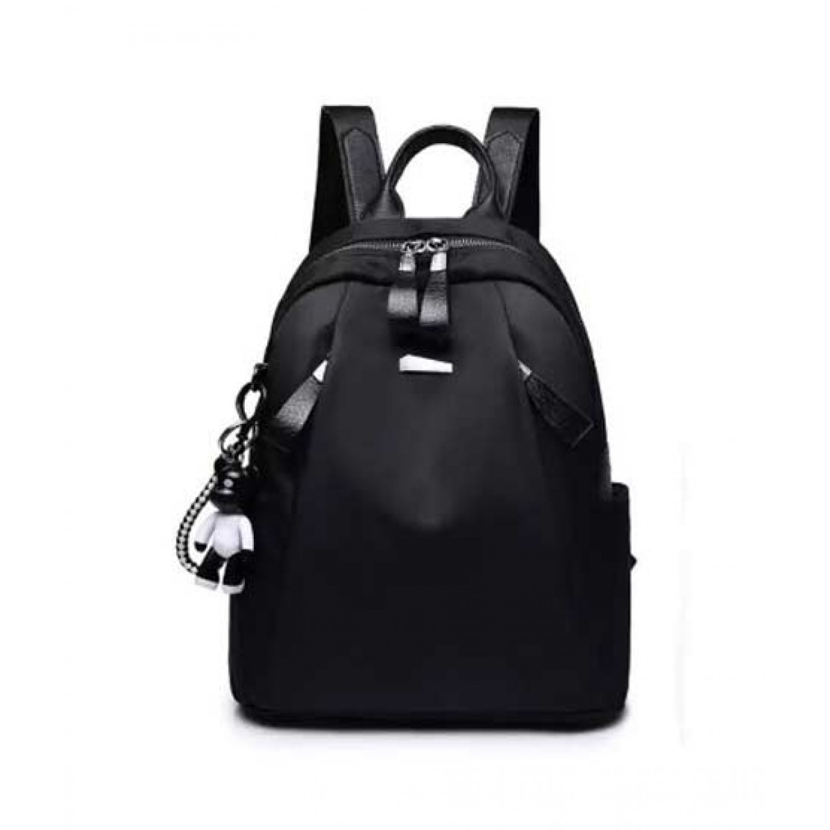 Saad Collection Luxury Drawstring College Bag For Women Black