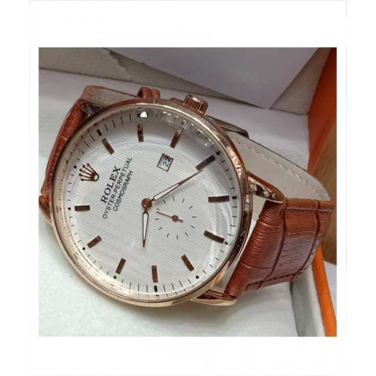 Sale Out Chronograph Watch For Men Brown