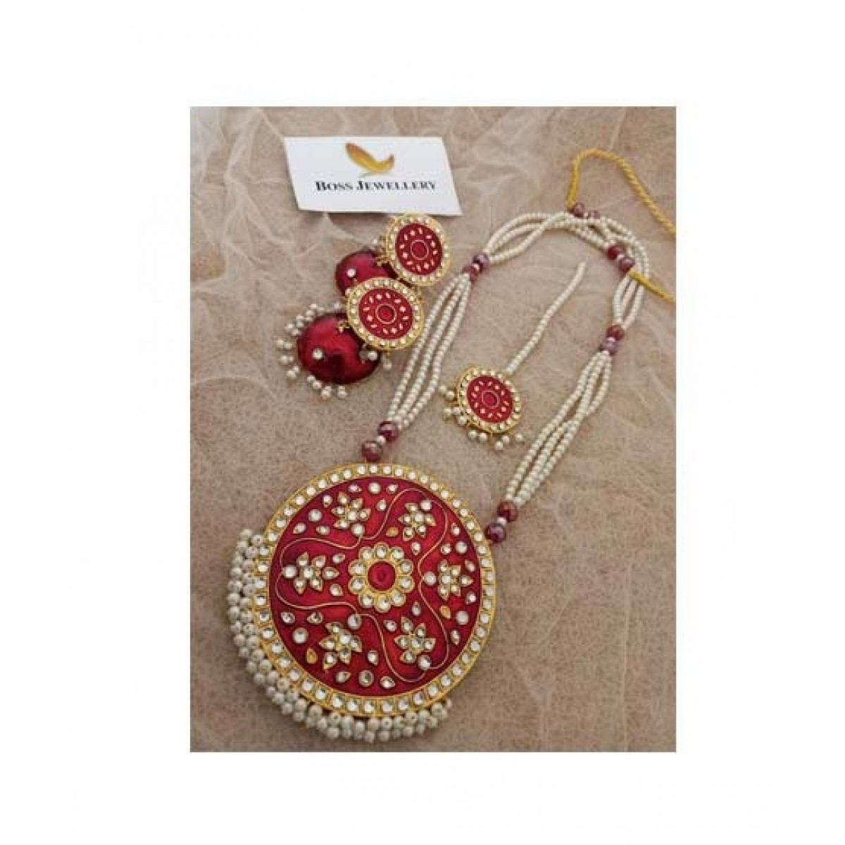 Sale Out Necklace & Earrings Set For Women