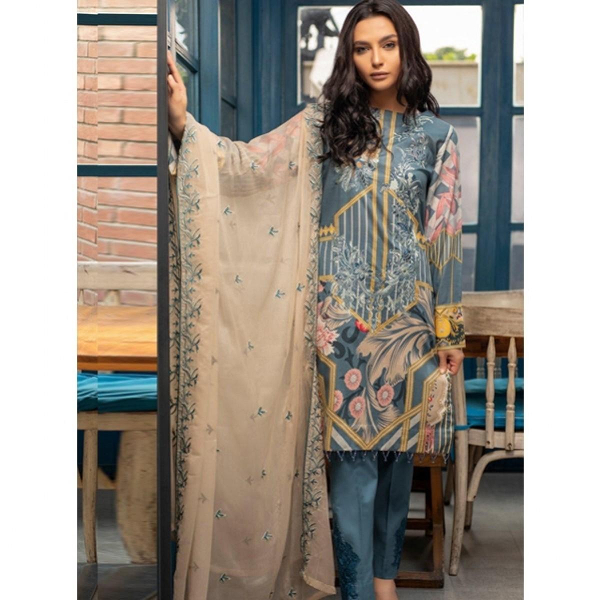 6b3e00eca1 Salitex Shades Summer 2019 3 Piece Price in Pakistan | Buy Salitex Shades Summer  Collection 2019 (WK-266A) | iShopping.pk