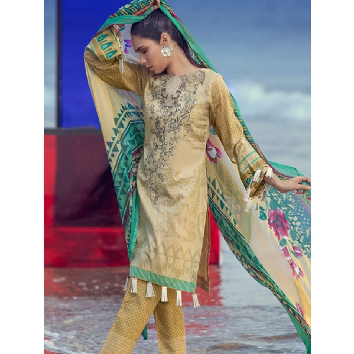 cfbfebe752 Salitex Silkoria Lawn Collection 2019 3 Piece (RC-154B) Price in Pakistan |  Buy Salitex Lawn Collection 2019 Vol-2 | iShopping.pk
