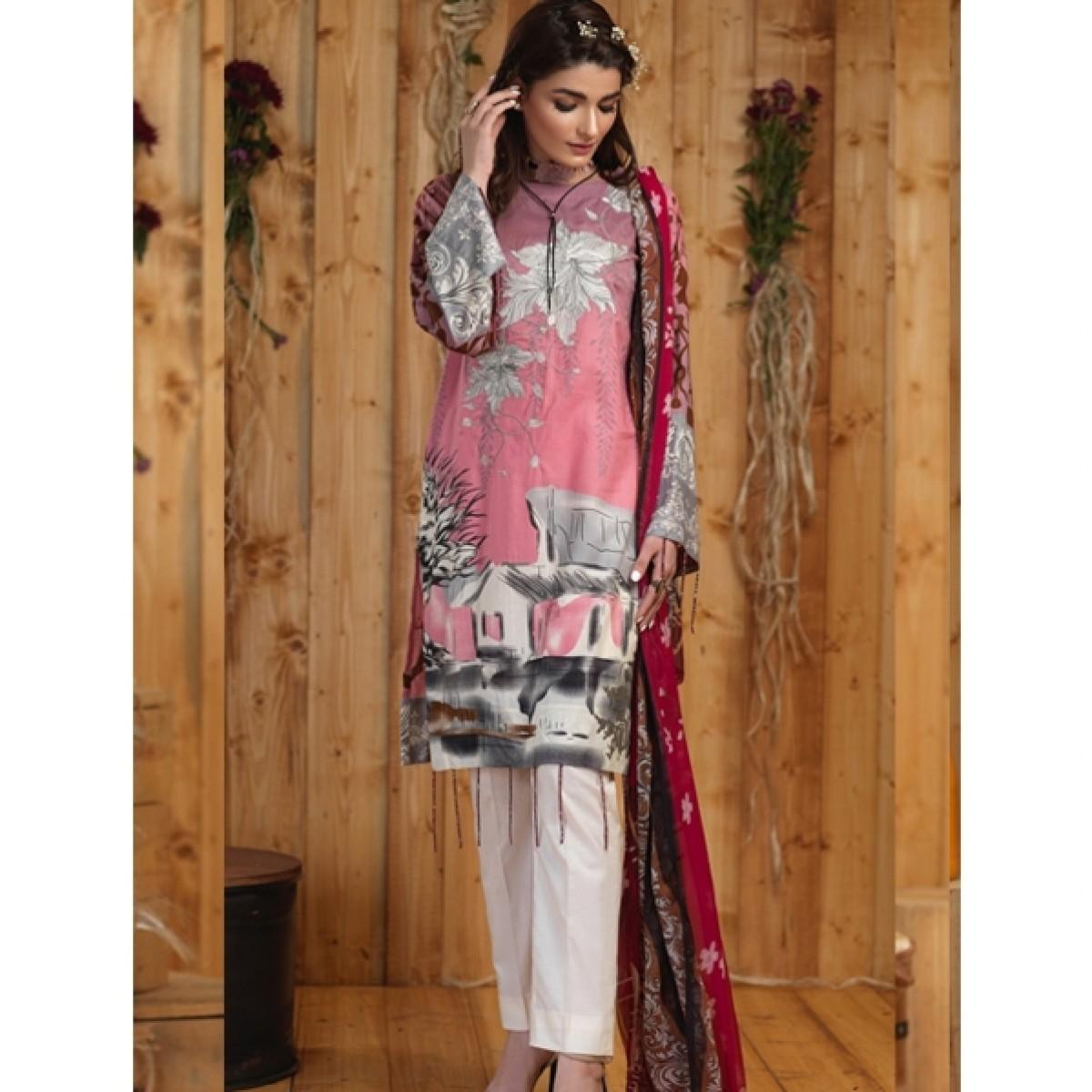 78f3c4e5ec Salitex Silkoria Emb Collection Vol 4 2019 (RC-160B) Price in Pakistan |  Buy Salitex Silkoria Lawn Collection 3 Piece | iShopping.pk