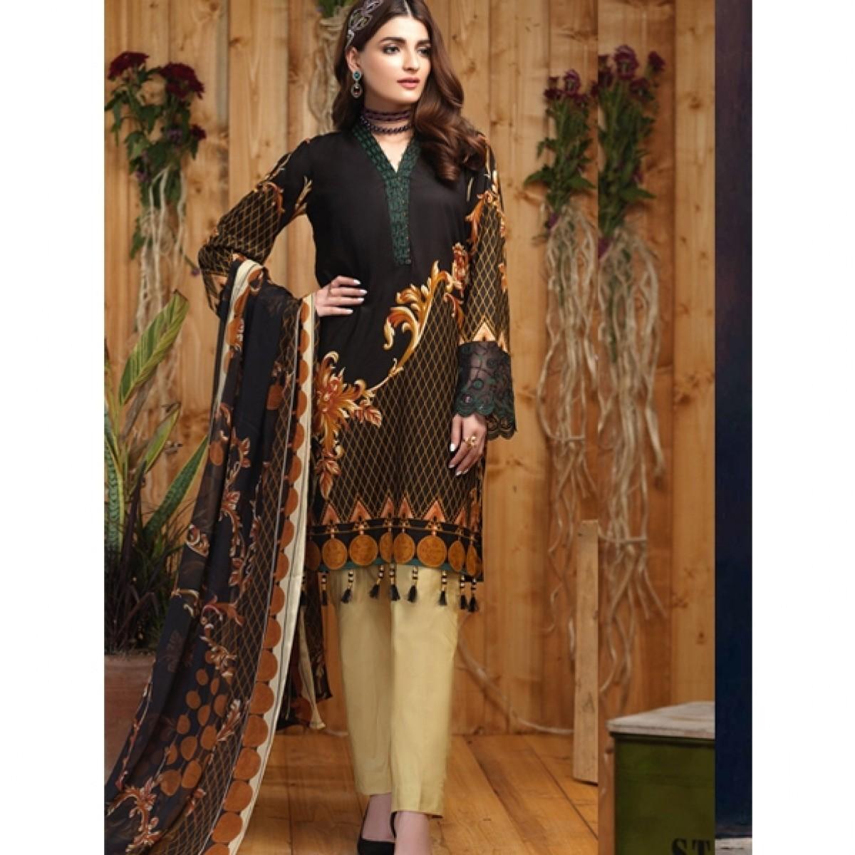 f2ca817fbc Salitex Silkoria Emb Collection Vol 4 2019 (RC-162A) Price in Pakistan |  Buy Salitex Silkoria Lawn Collection 3 Piece | iShopping.pk
