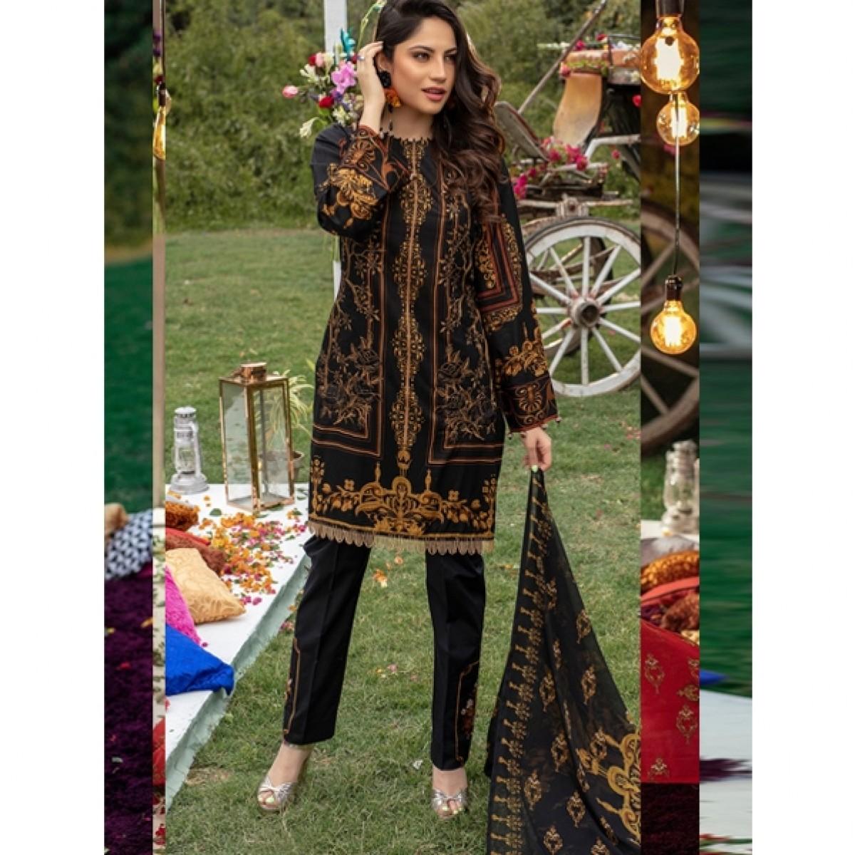 abf4979da1 Salitex Zure Lawn Collection 2019 Vol-2 (WK-258A) Price in Pakistan | Buy  Salitex Zure Embroidered Collection 3 Piece | iShopping.pk