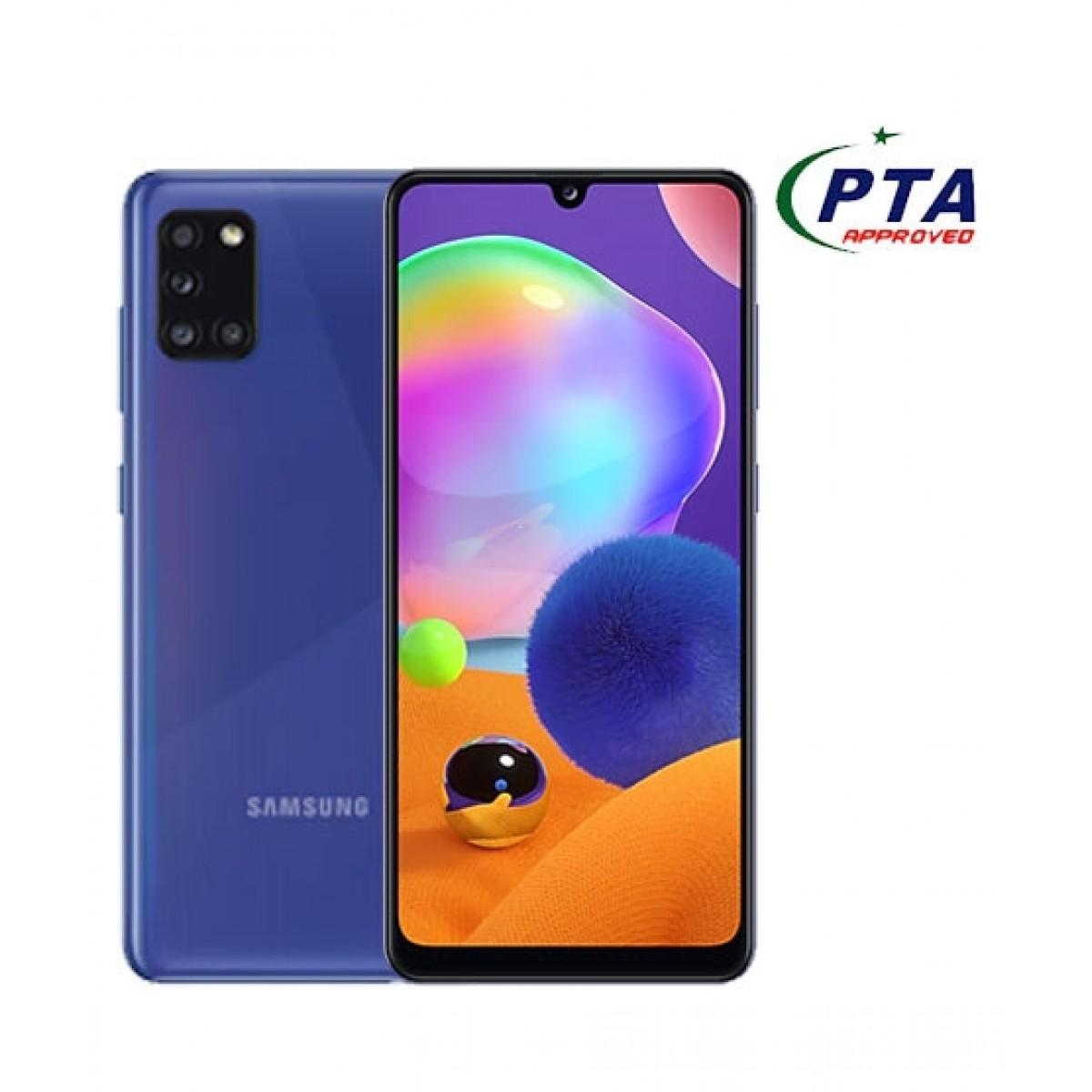 Samsung Galaxy A31 128GB 4GB RAM Dual SIM Prism Crush Blue