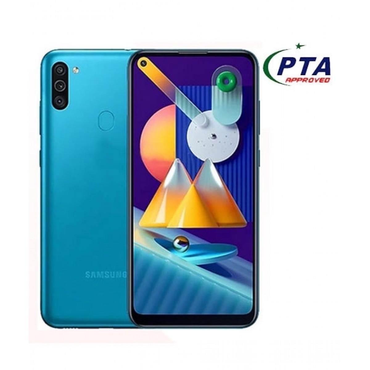 Samsung Galaxy M11 32GB 3GB RAM Dual SIM Metallic Blue