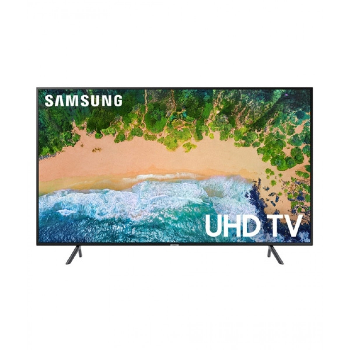 "Samsung 43"" 4K UHD Smart LED TV (43NU7100) - Without Warranty"