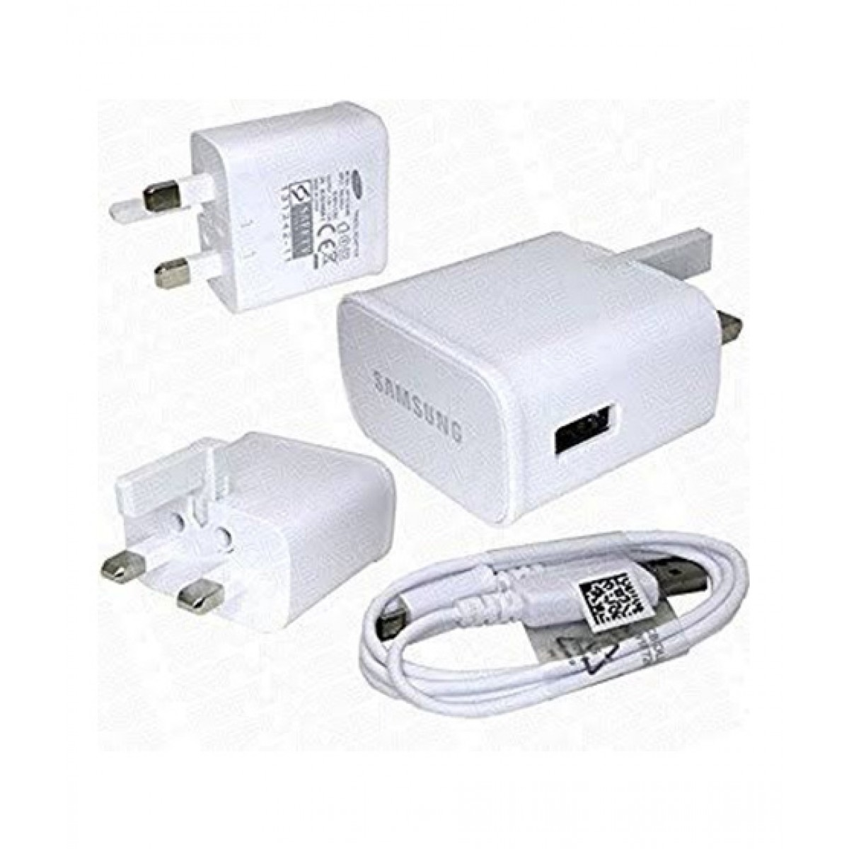 Samsung Fast Charger With Cable White