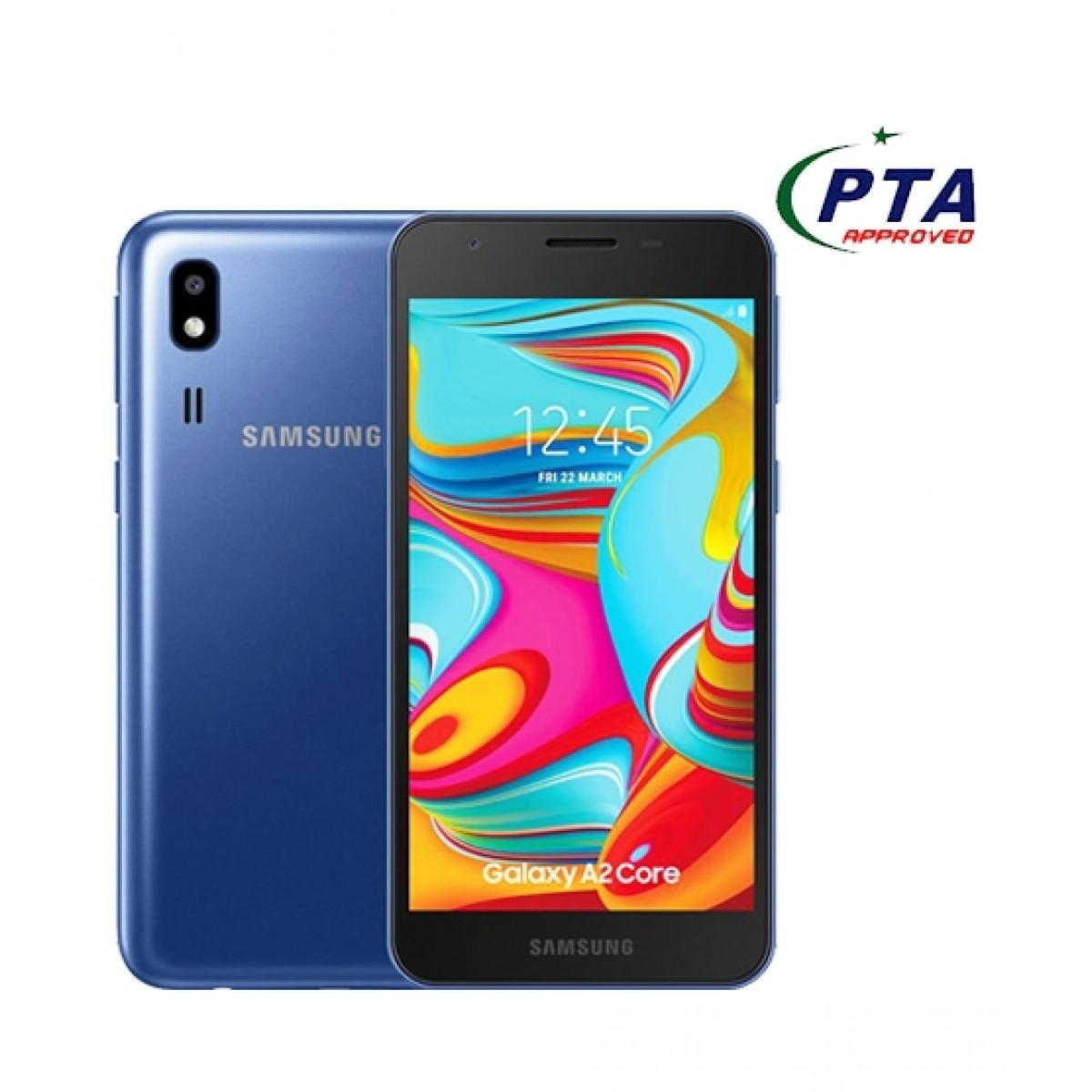 Samsung Galaxy A2 Core 8GB Dual Sim Blue - Official Warranty