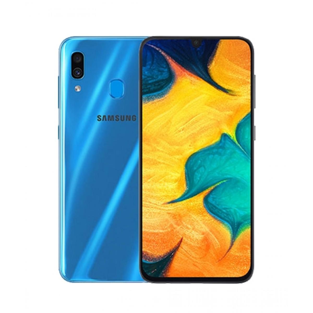Samsung Galaxy A30 64GB Dual Sim Blue - Non PTA Compliant