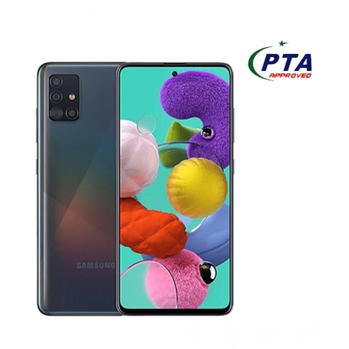 Samsung Galaxy A51 128GB 6GB RAM Dual Sim Black - Official Warranty