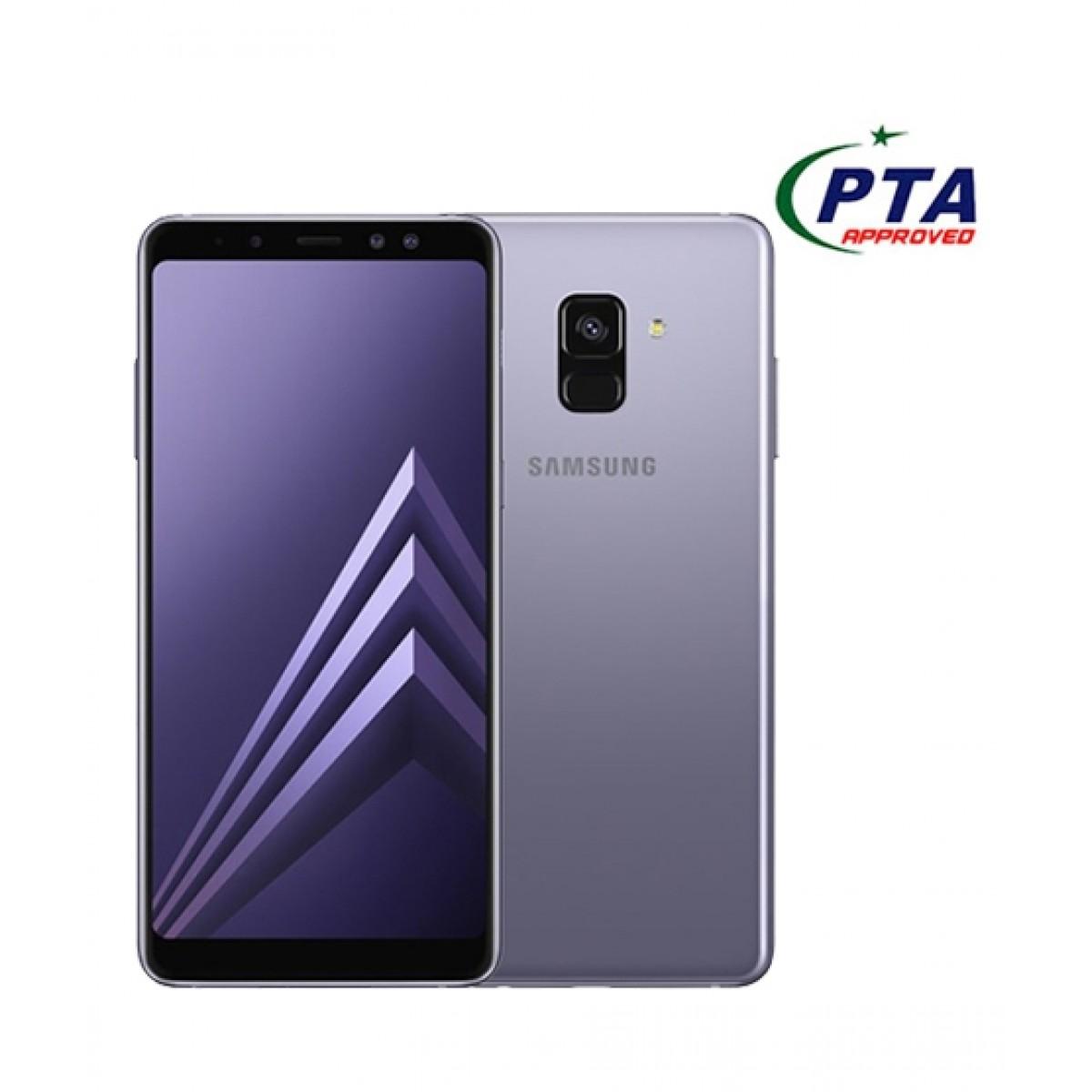 Samsung Galaxy A8+ 2018 64GB Dual Sim Orchid Gray - Official Warranty