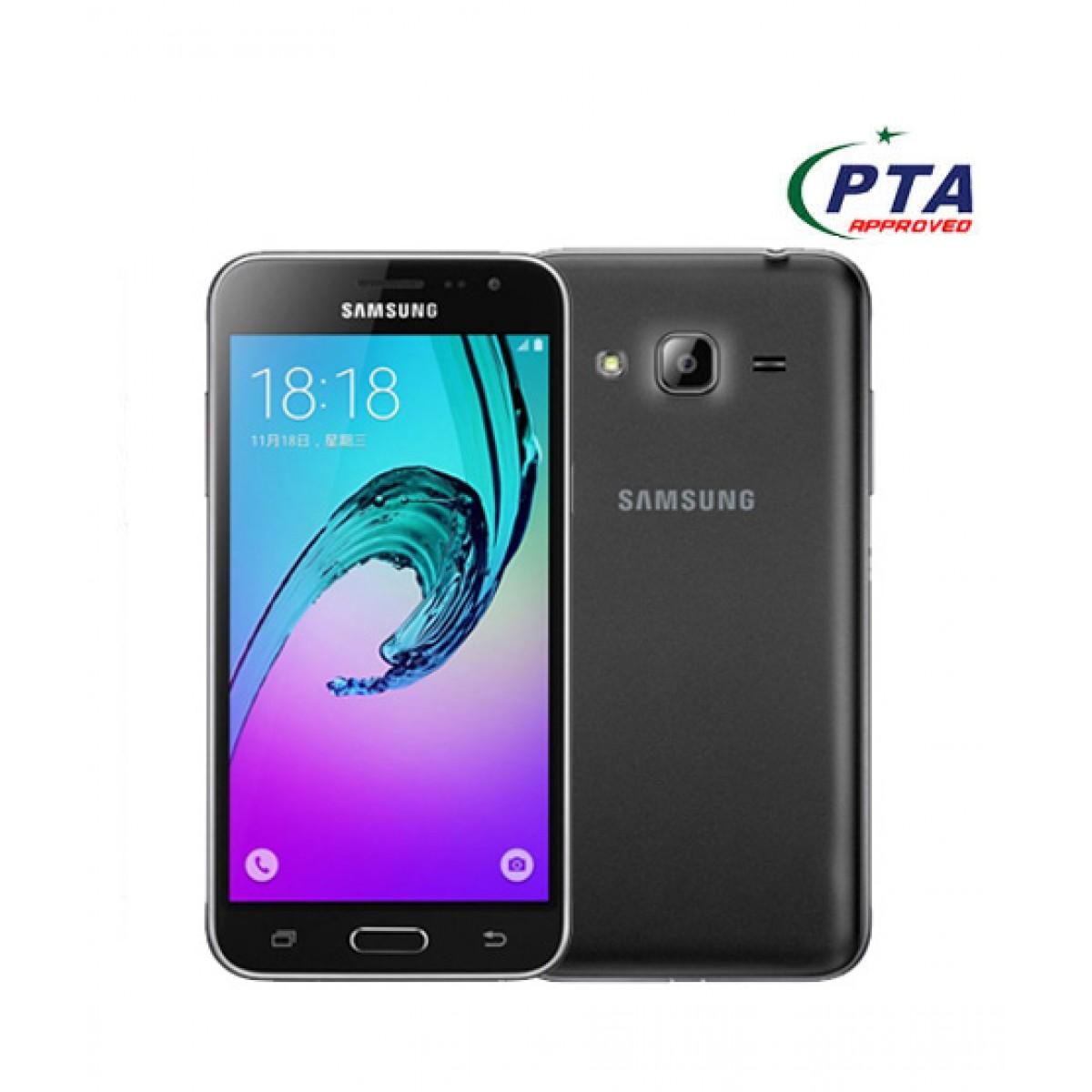 Samsung Galaxy J3 2016 4G Dual Sim Black (J320FD) - Official Warranty