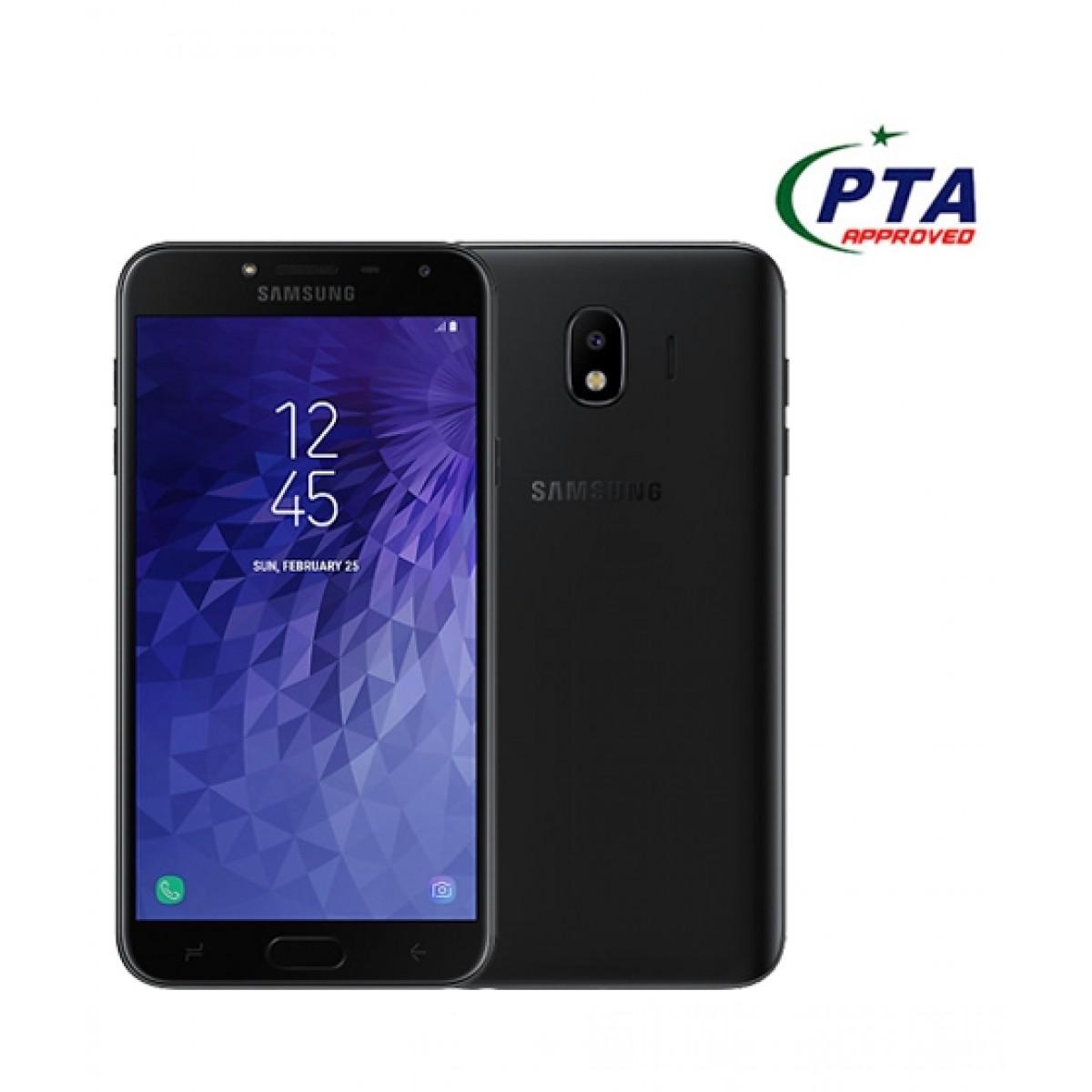 Samsung Galaxy J4 16GB Dual Sim Black (J400FD) - Official Warranty