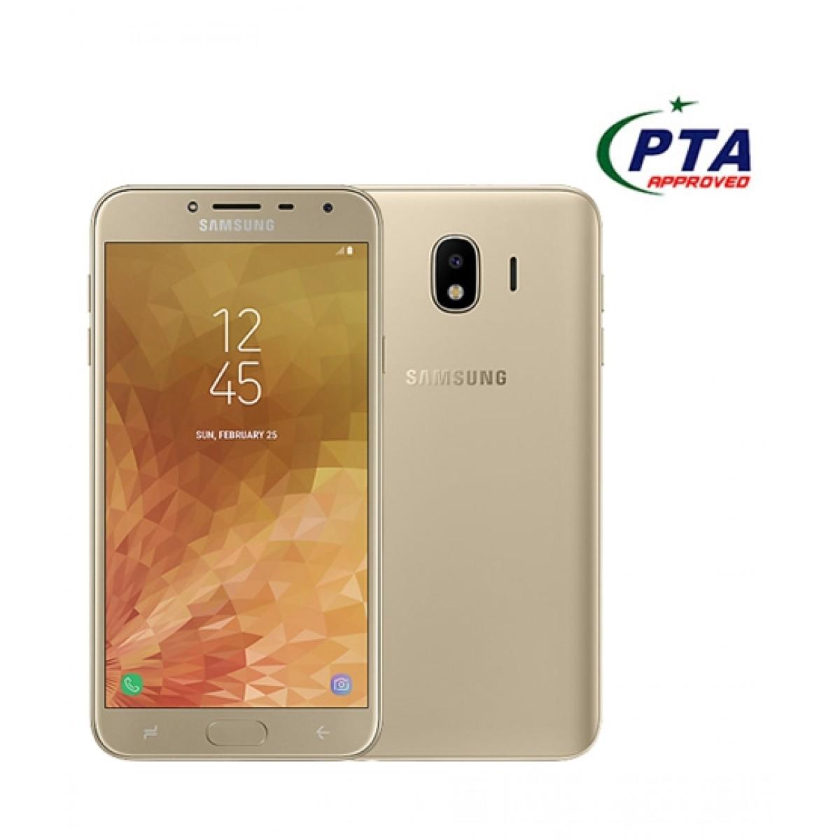 Samsung Galaxy J4 16GB Dual Sim Gold (J400FD) - Official Warranty