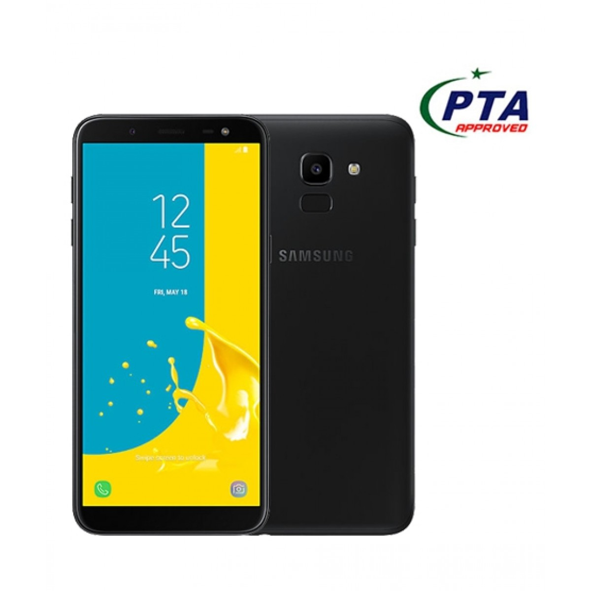 Samsung Galaxy J6 32GB Dual Sim Black (J600FD) - Official Warranty
