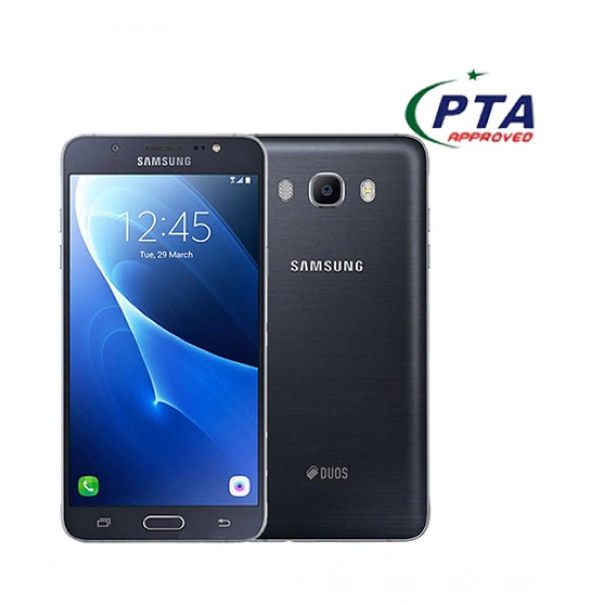 Samsung Galaxy J7 2016 4G Dual Sim Black (J710FD) - Official Warranty
