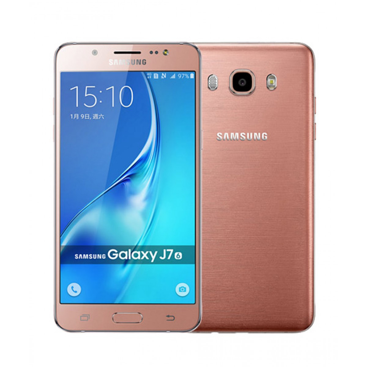 Samsung Galaxy J7 2016 4G Dual Sim Pink Gold (J710FD) - Official Warranty