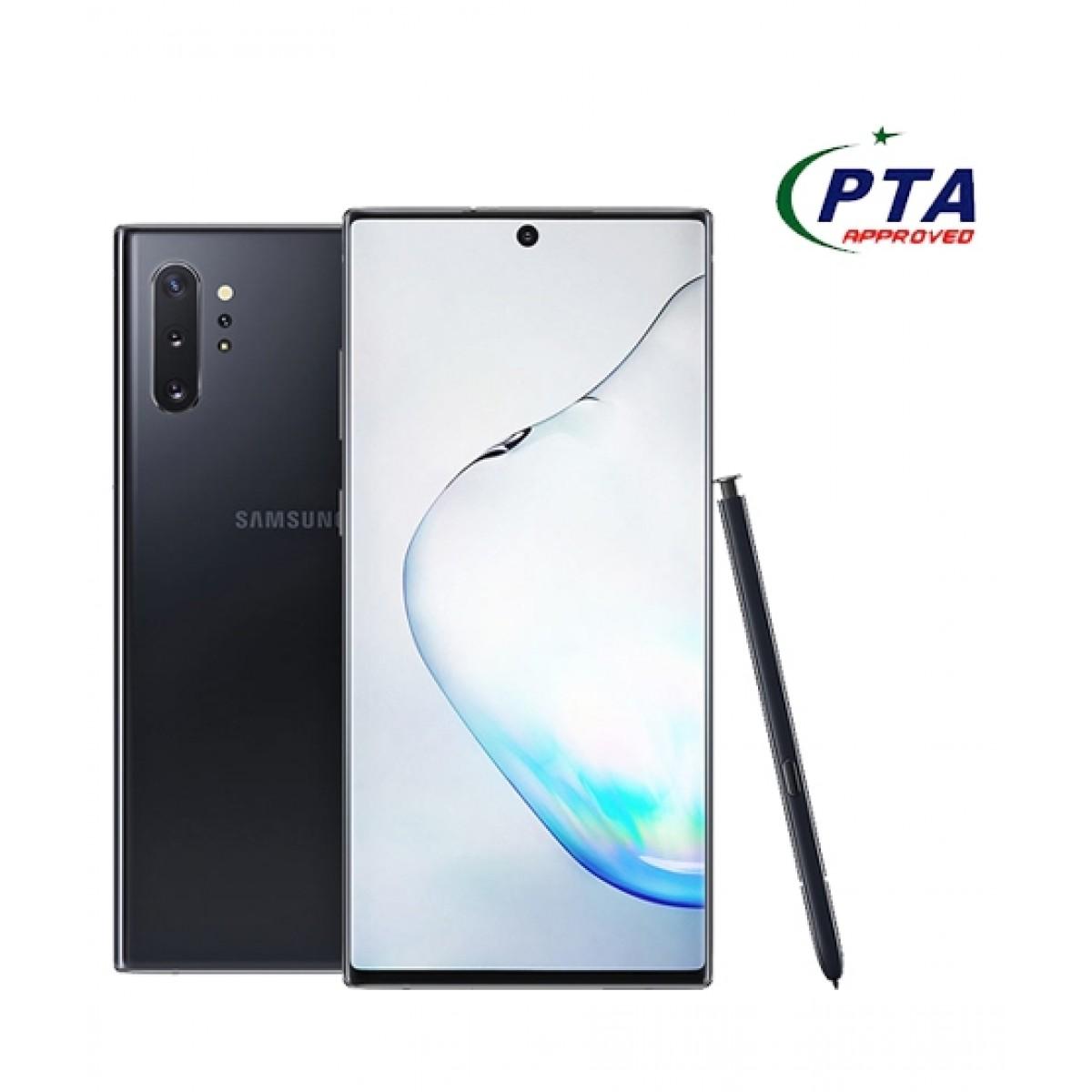 Samsung Galaxy Note 10+ 256GB 12GB Dual Sim Aura Black - Official Warranty