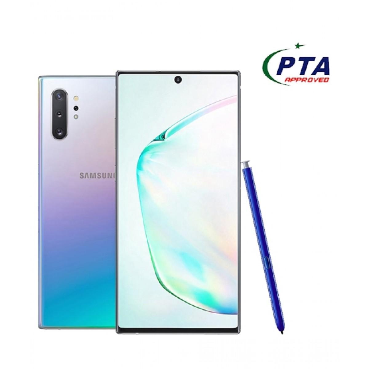 Samsung Galaxy Note 10+ 256GB 12GB Dual Sim Aura Glow - Official Warranty