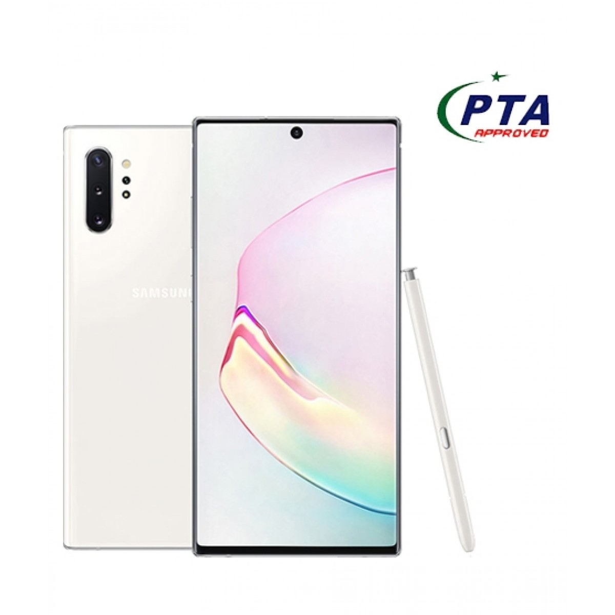 Samsung Galaxy Note 10+ 256GB 12GB Dual Sim Aura White - Official Warranty