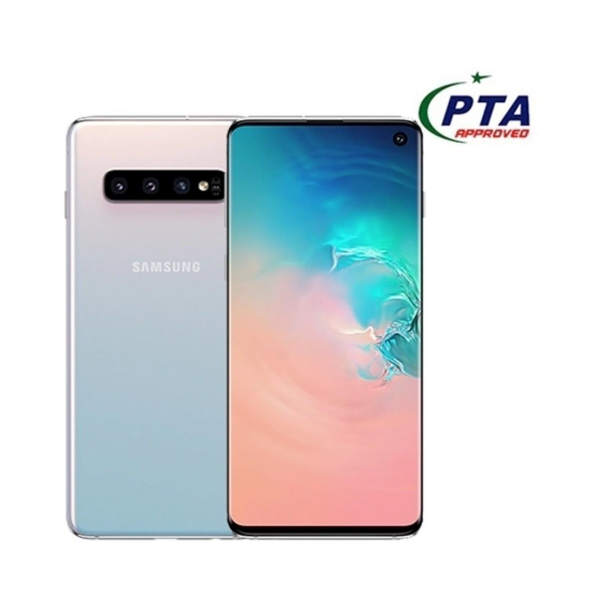 Samsung Galaxy S10 128GB Dual Sim Prism White - Official Warranty