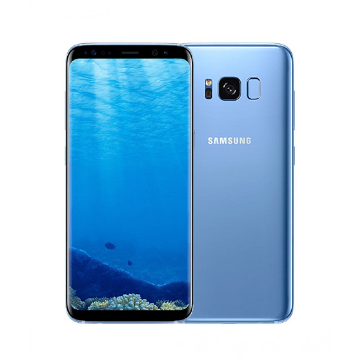 Samsung Galaxy S8 64GB Dual Sim Coral Blue (G950FD)